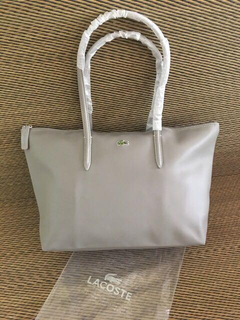 Original Lacoste Tote Bag (Elegant Grey)
