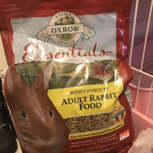 Oxbow兔子飼料 5月到期便宜賣