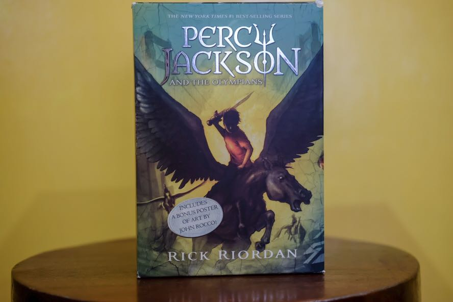 Percy Jackson and the Olympians (The Complete Series)