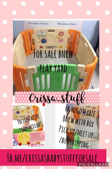Play yard for sale