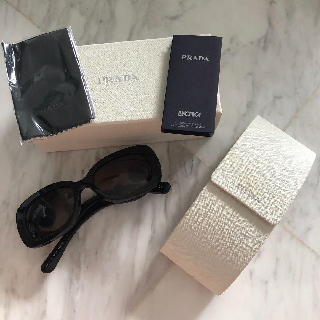 e1be838cda7c5 ... new style prada baroque sunglasses womens fashion accessories on  carousell f6d64 e4f81 ...