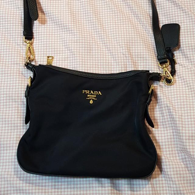 7855762a22c00c Prada Nylon Tessuto Bandoliera crossbody Slingbag, Luxury, Bags ...