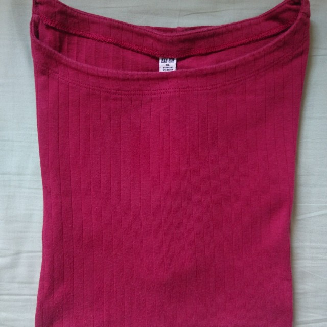 [PRELOVED] Uniqlo Red T Shirt