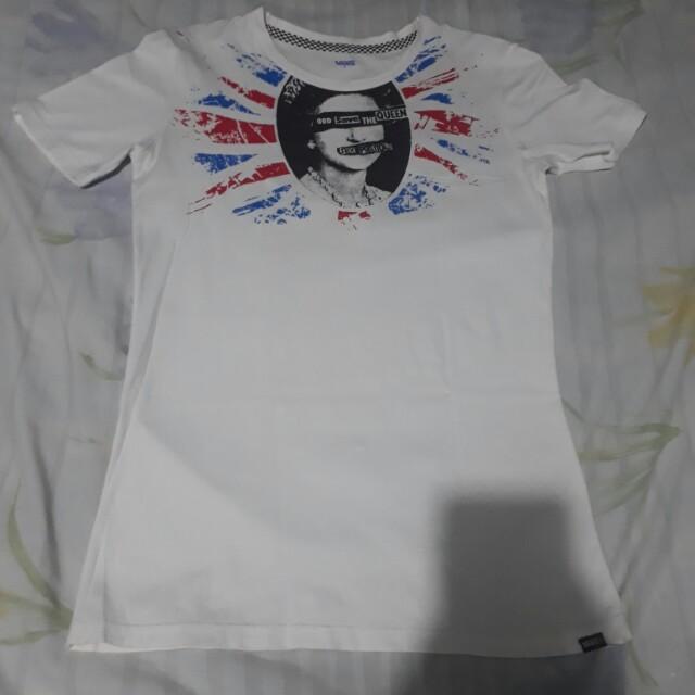 Preloved Vans tshirt