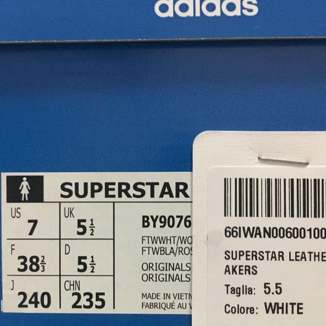 Price Reduced** Adidas Superstar Bold (Pink), Women's