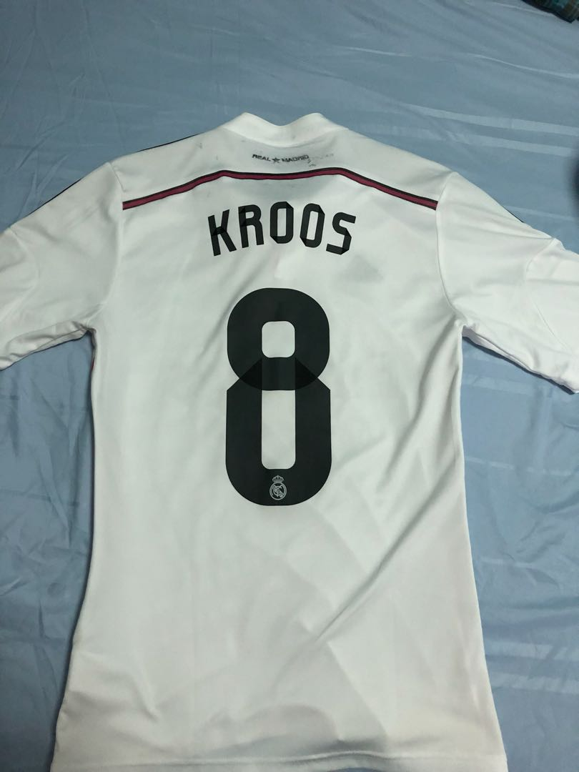 3c38ebd0a Real Madrid Jersey(14 15) With Toni Kroos printing