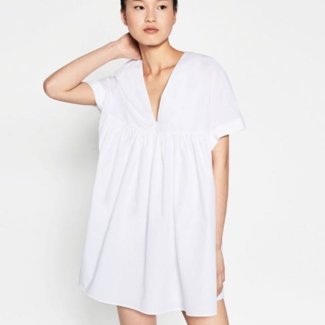 46826873d4a REDUCED) Zara Poplin Jumpsuit Dress