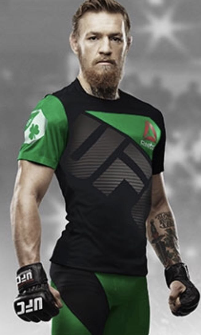 detailed look 6111e ffd7c Reebok Conor McGregor Jersey, Sports, Sports Apparel on ...