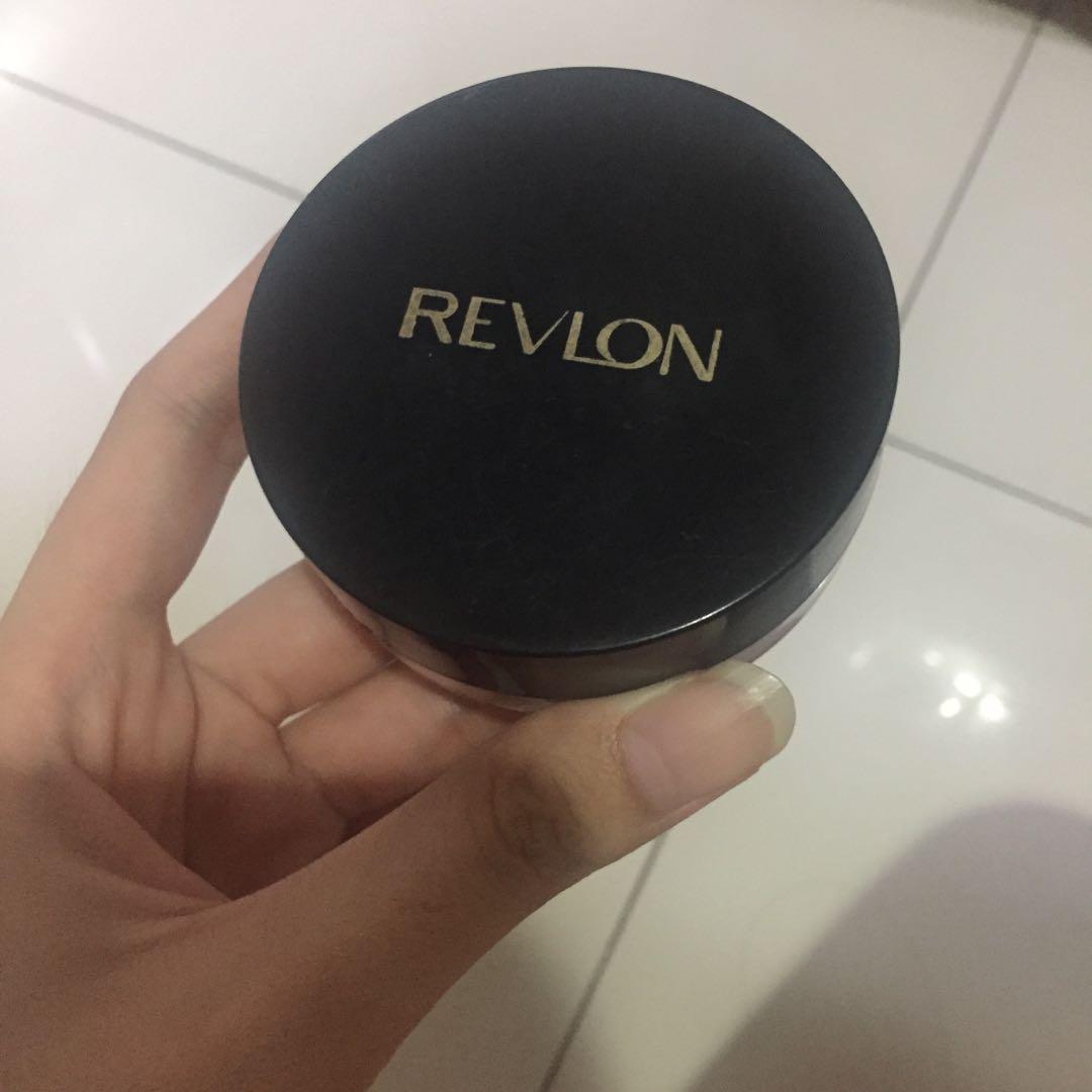 Revlon loose powder bedak tabur
