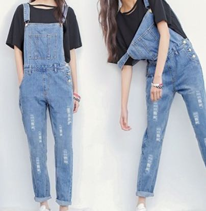 Ripped jumpsuit