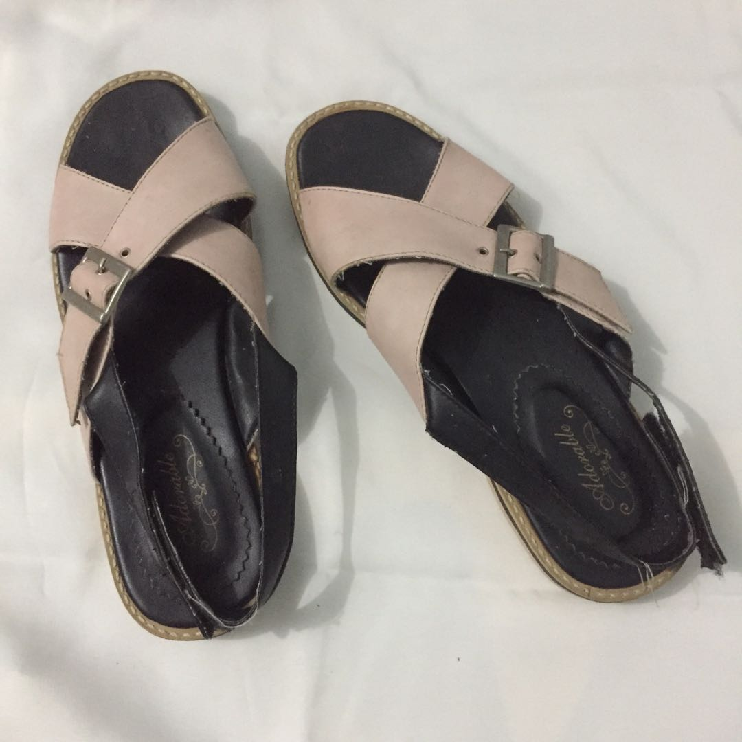 Sandal pink adorable project