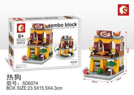 Sembo Block Hot Dog
