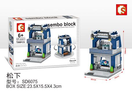 sembo block panasonic