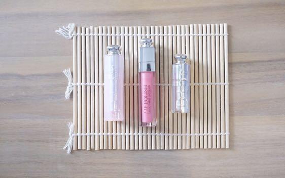 Set of 3 DIOR Lipstick, Lip Gloss & Lip Balm