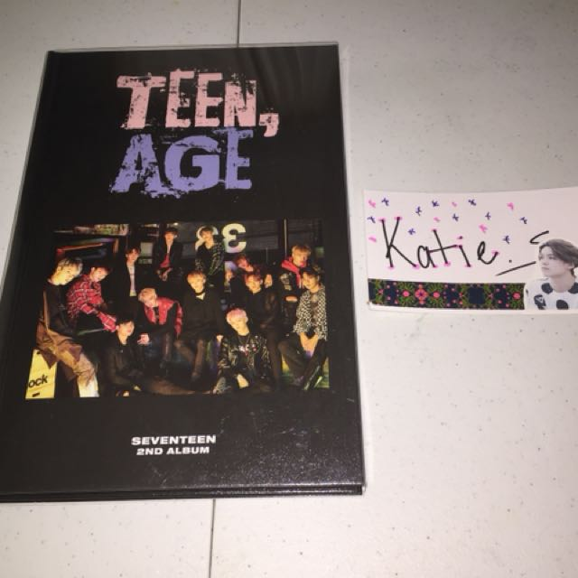 SEVENTEEN TEENAGE RS (no pc)