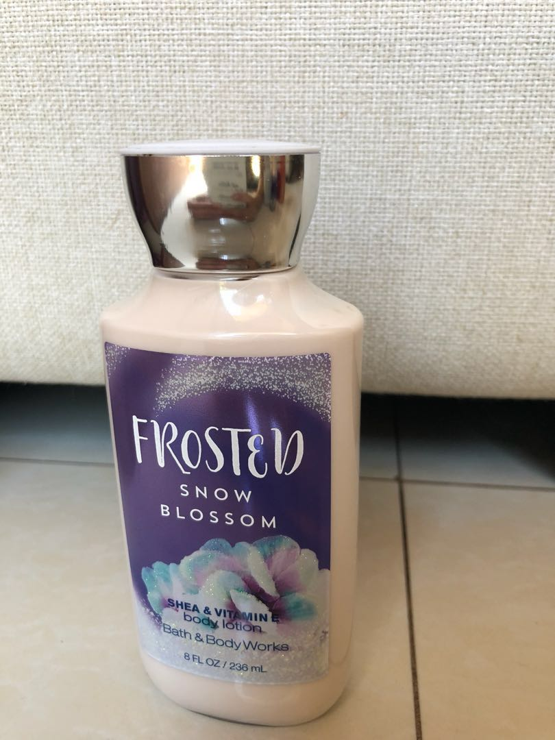 Shea & Vitamin E Body Lotion Snow Blossom