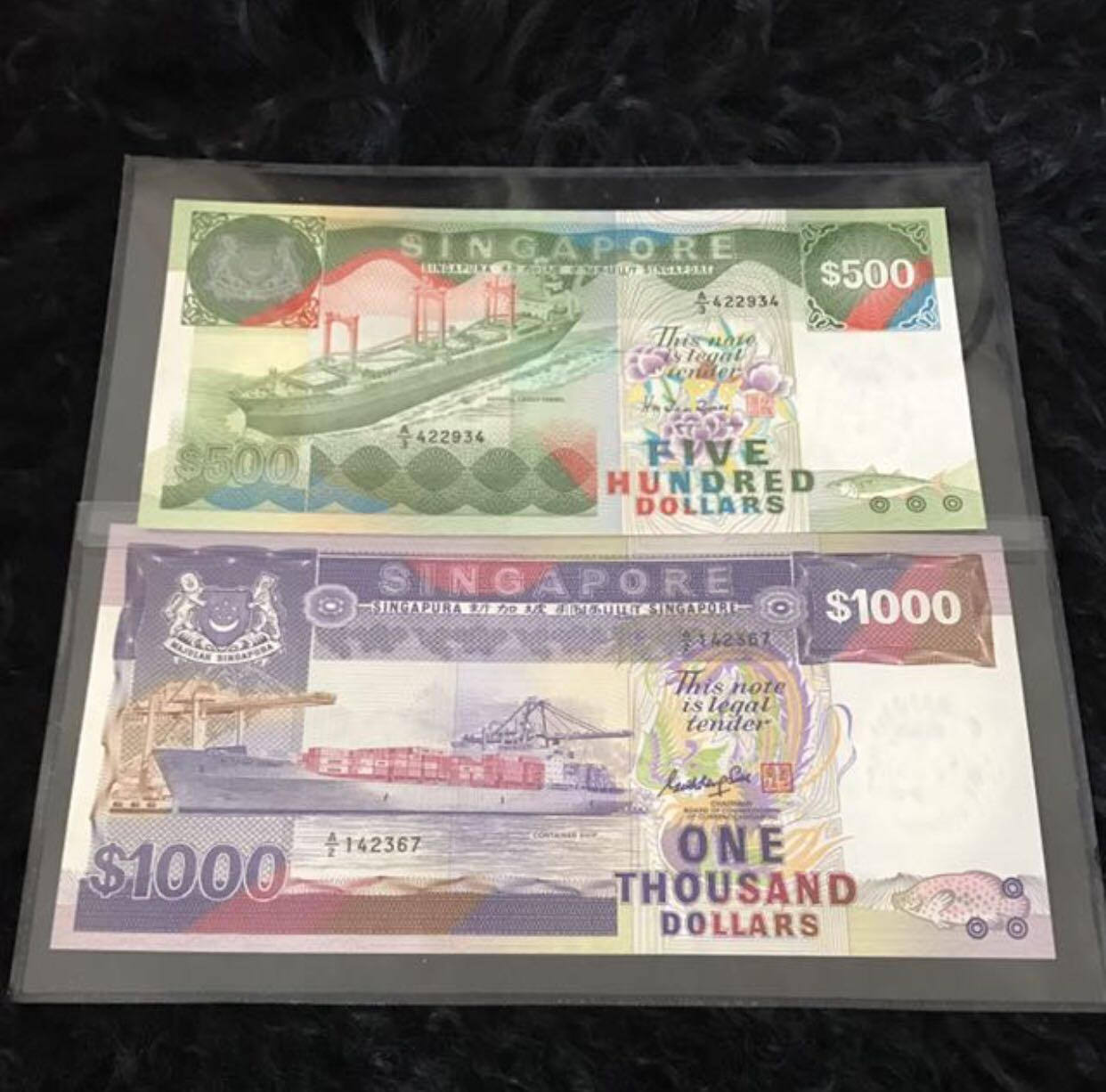 Ship Series $500 & $1000