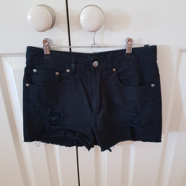 SIZE 8 DOTTI DENIM SHORTS