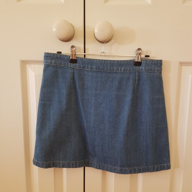 SIZE 8 GLASSONS DENIM SKIRT