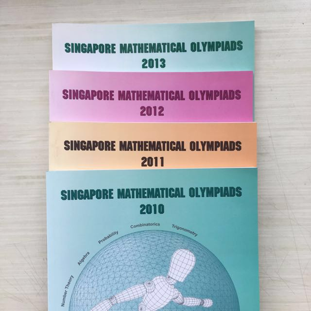 SMO Singapore Mathematics Olympiad Books, Books & Stationery