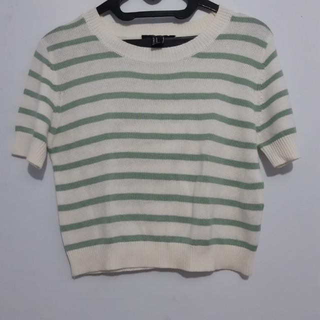 Strip shirt forever 21
