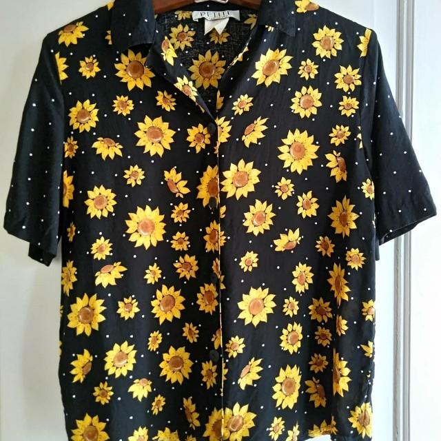 Sunflower buttondown