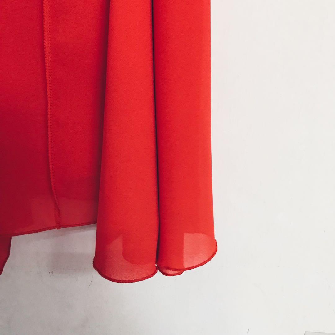 Tank Top Dress in Burnt Orange