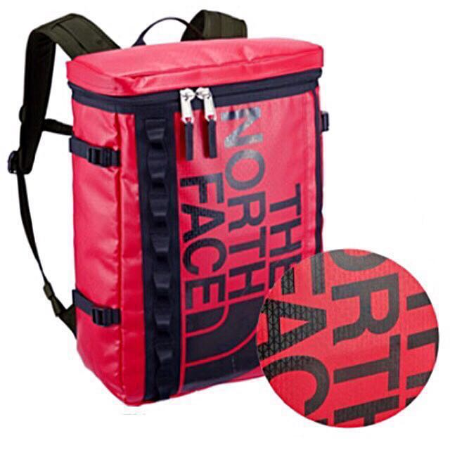 The North Face Fuse Box Backpack | Haversack  SPECIAL PATTERN RED B