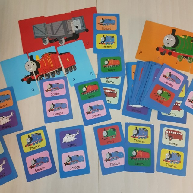 Thomas & Friends 48 double-sided pictures cards