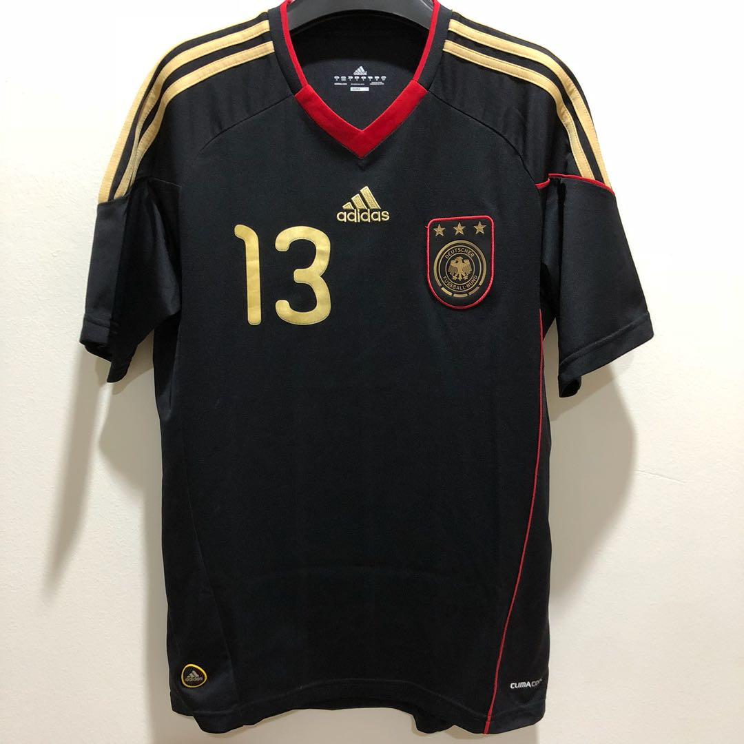newest collection f827d 8b1e3 THOMAS MULLER Germany Away World Cup 2010 Adidas Jersey ...