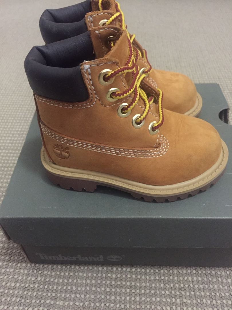 Timberland Toddler Shoes size 7