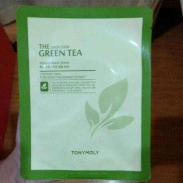 💆Tony Moly Chok Chok Green Tea Mask