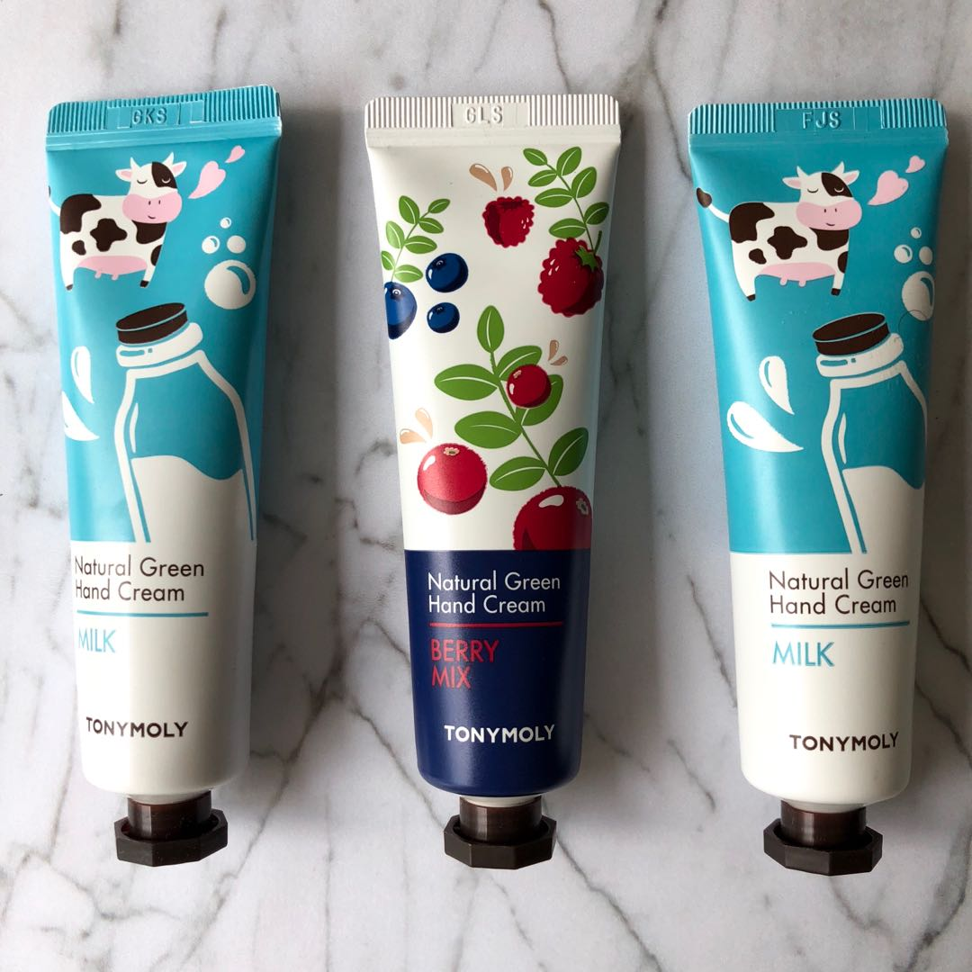 Tony moly nature hand cream
