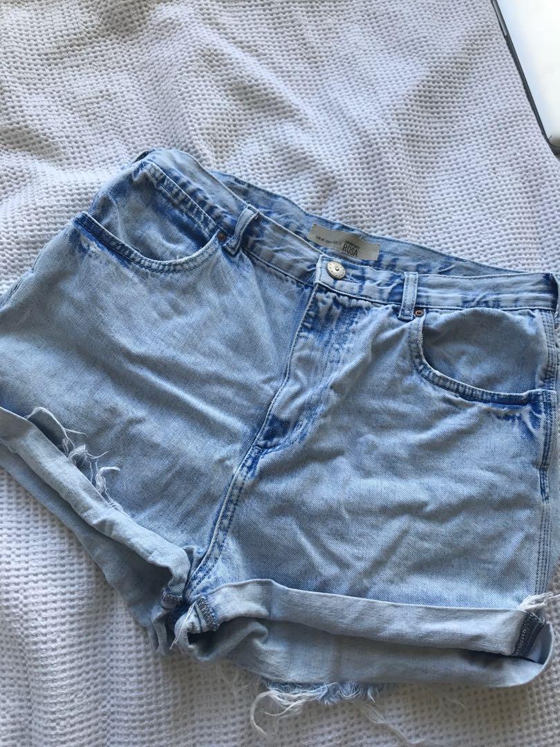 Top shop shorts