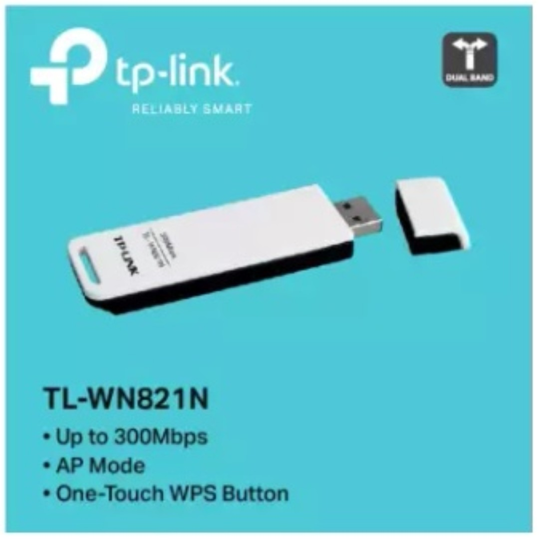 Tp Link Tl Wn821n 300mbps Wireless N Usb Adapter Electronics Others On Carousell