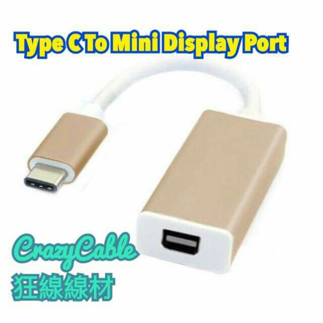 Type C To Mini Display Port