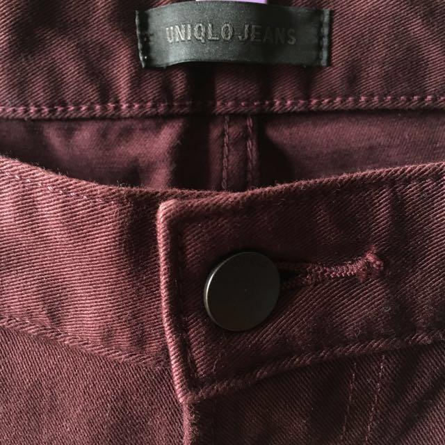 Uniqlo Women's High Rise Cigarette Jeans