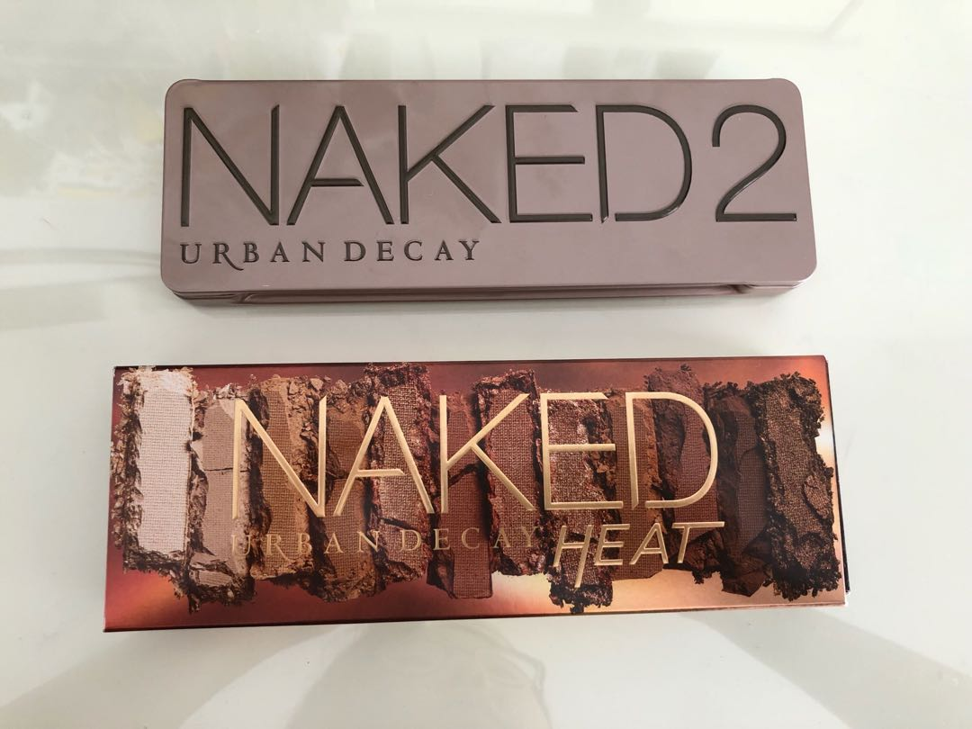 Urban decay Naked heat palette / Naked 2