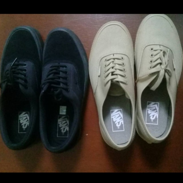 7a75f292fab09a Vans Era 59 Blackout   Vans authentic pro classic