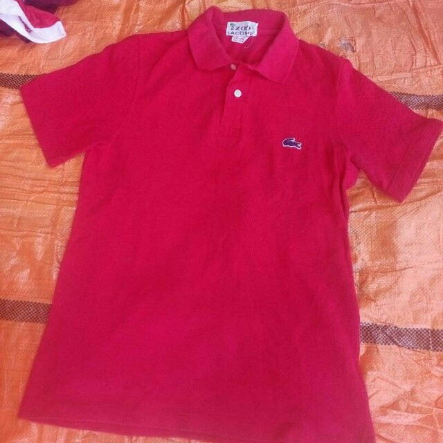 29766b7c2f6 Vintage Izod Lacoste Polo T-shirt USA., Men's Fashion, Clothes on Carousell