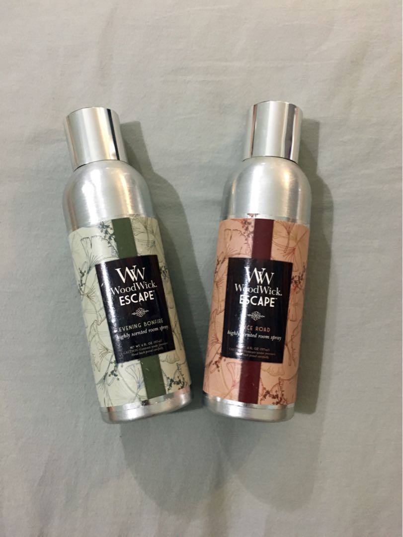 WoodWick Escape Room Sprays