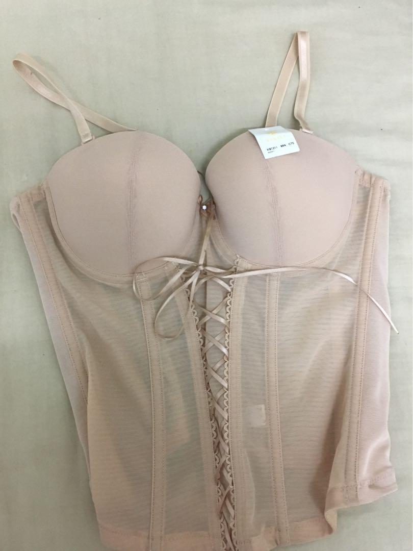 Xixili corset in nude