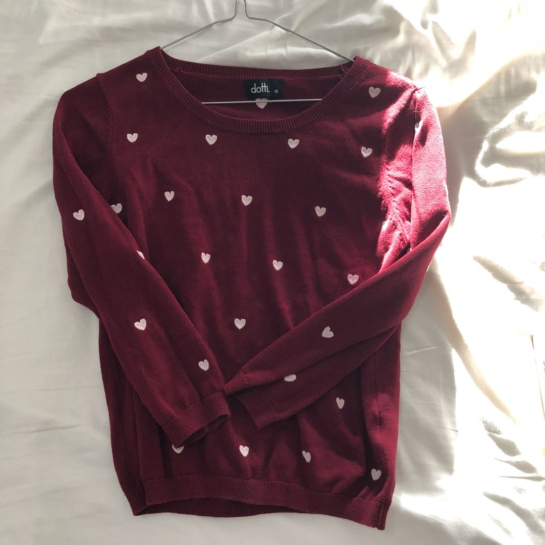 XS DOTTI 3/4 sleeve jumper / sweater - perfect condition