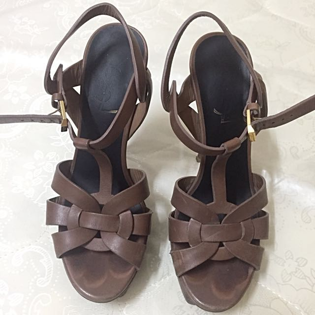 Yves Saint Laurent Tribute Sandals