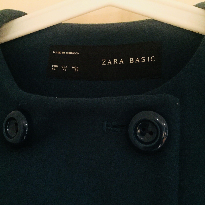 Zara Turquoise Winter Coat