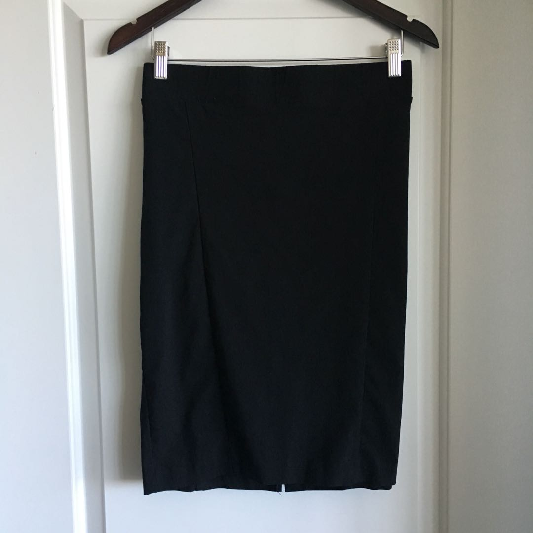 Zip Closure Pencil Skirt (2XL)