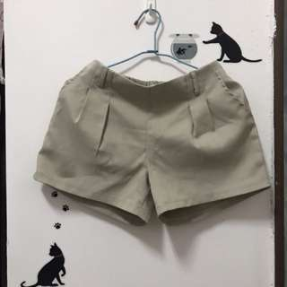卡其西裝褲