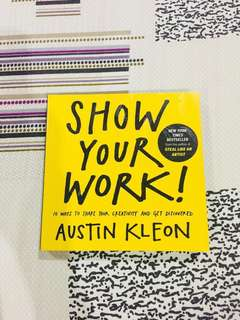 Show Your Work Book