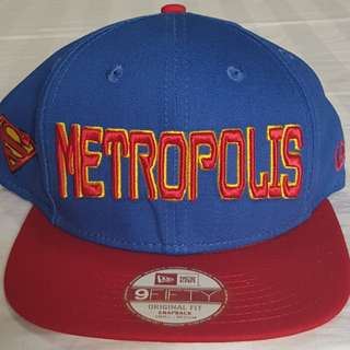 New Era Hero City Superman Snapback Cap