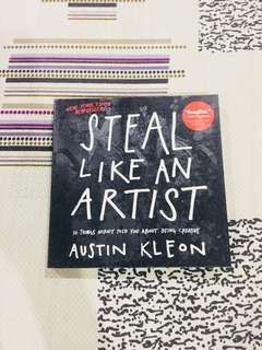 Steal Like an Artist Book